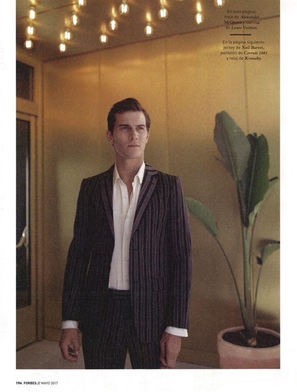 FORBES SPAIN Vincent Lacrocq by Manuele Geromini. Maria Molina, Summer 2017, www.imageamplified.com, Image Amplified9