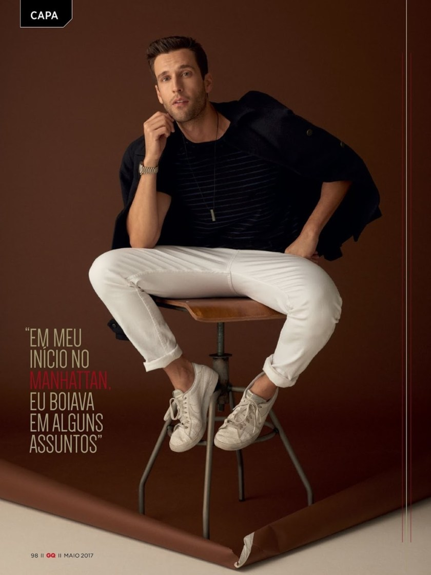 GQ BRASIL Pedro Andrade by Zee Nunes. Sylvain Justum, Spring 2017, www.imageamplified.com, Image Amplified5