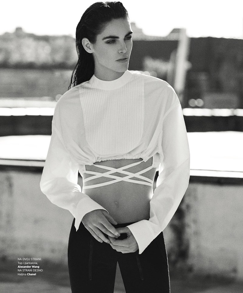 HARPER'S BAZAAR SERBIA Hilary Rhoda by Zoey Grossman. Anna Katsanis, June 2017, www.imageamplified.com, Image Amplified7