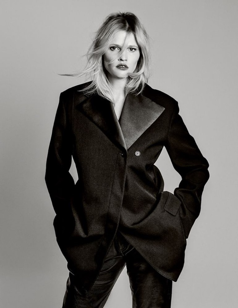 INTERMISSION MAGAZINE Lara Stone by John Scarisbrick. Gaelle Bon, Summer 2017, www.imageamplified.com, Image Amplified9