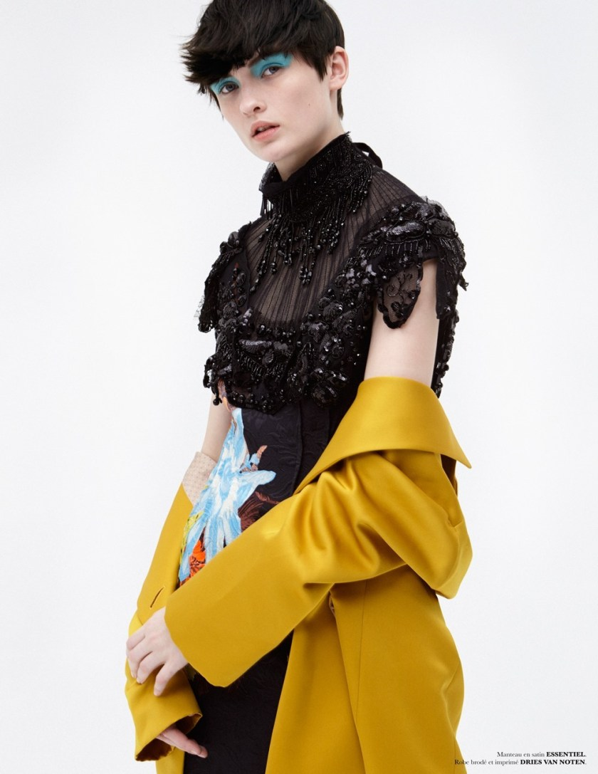 MARIE CLAIRE BELGIUM Lara Mullen by Hicham Riad. Christine Van Laer, May 2017, www.imageamplified.com, Image Amplified17