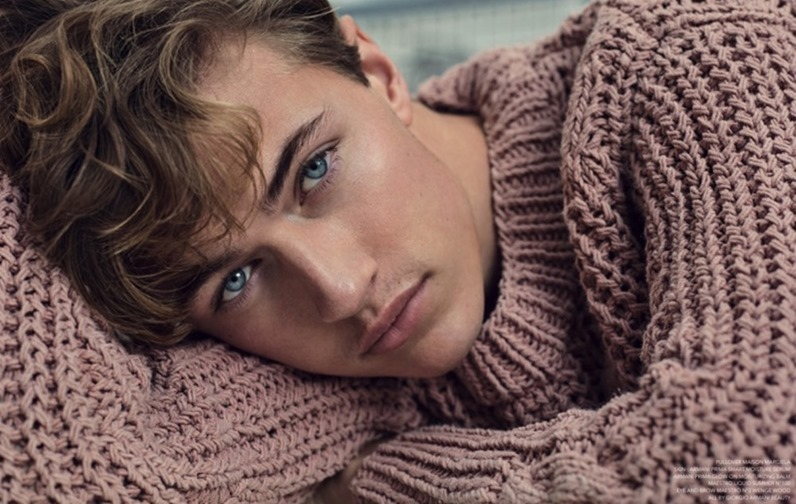 NARCISSE MAGAZINE Lucky Blue Smith by Marcin Tyszka. Rene Gloor, Summer 2017, www.imageamplified.com, Image Amplified4