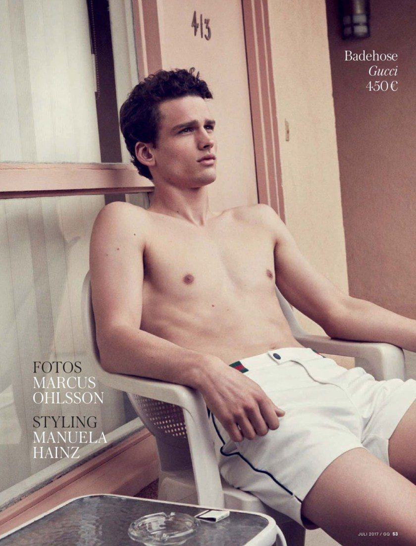 GQ GERMANY Simon Nessman by Marcus Ohlsson. Manuela Hainz, Summer 2017, www.imageamplified.com, Image Amplified1
