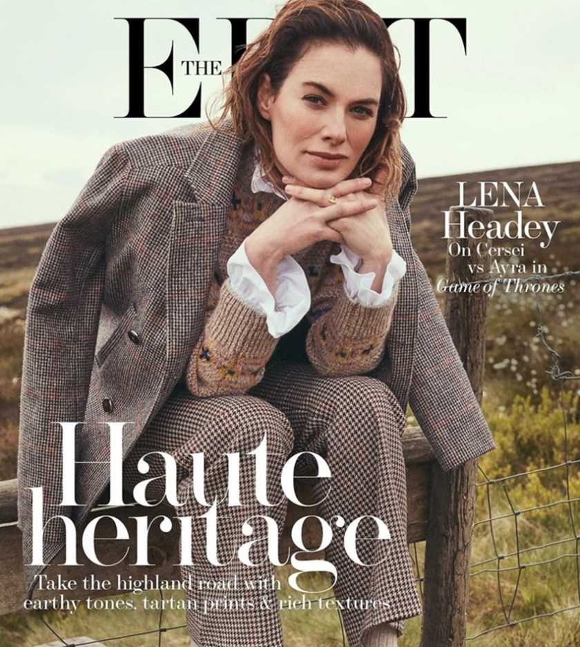 THE EDIT Lena Headey by Stefano Galuzzi. Joanna Schlenzka, July 2017, www.imageamplified.com, Image Amplified1