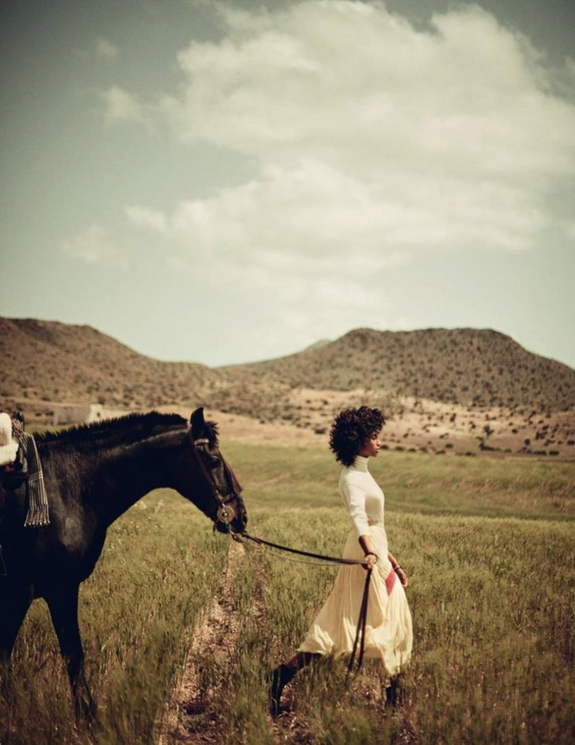 VOGUE SPAIN Imaan Hammam by Boo George. Sara Fernandez Castro, July 2017, www.imageamplified.com, Image Amplified4
