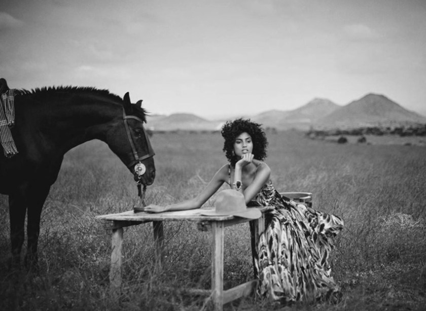 VOGUE SPAIN Imaan Hammam by Boo George. Sara Fernandez Castro, July 2017, www.imageamplified.com, Image Amplified5