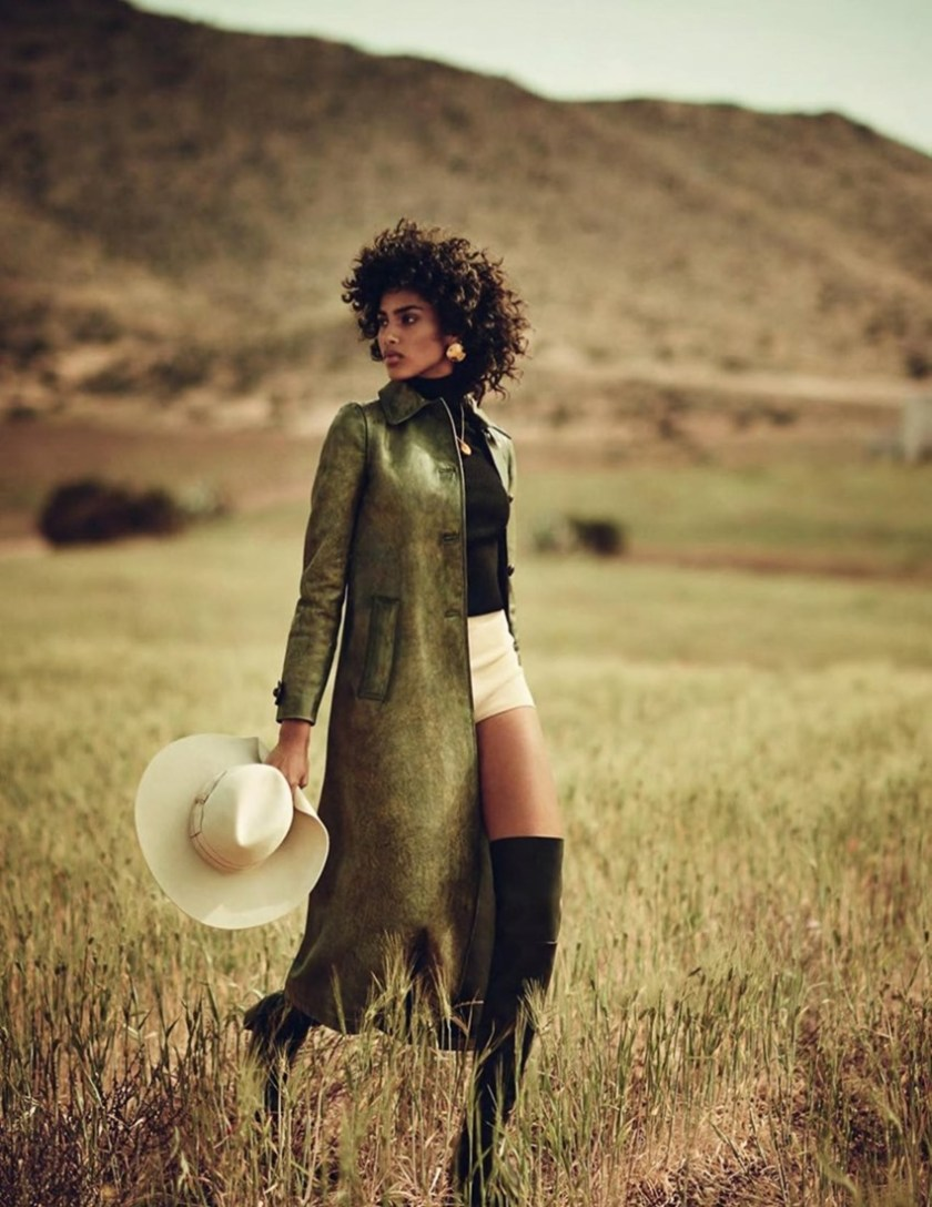 VOGUE SPAIN Imaan Hammam by Boo George. Sara Fernandez Castro, July 2017, www.imageamplified.com, Image Amplified8