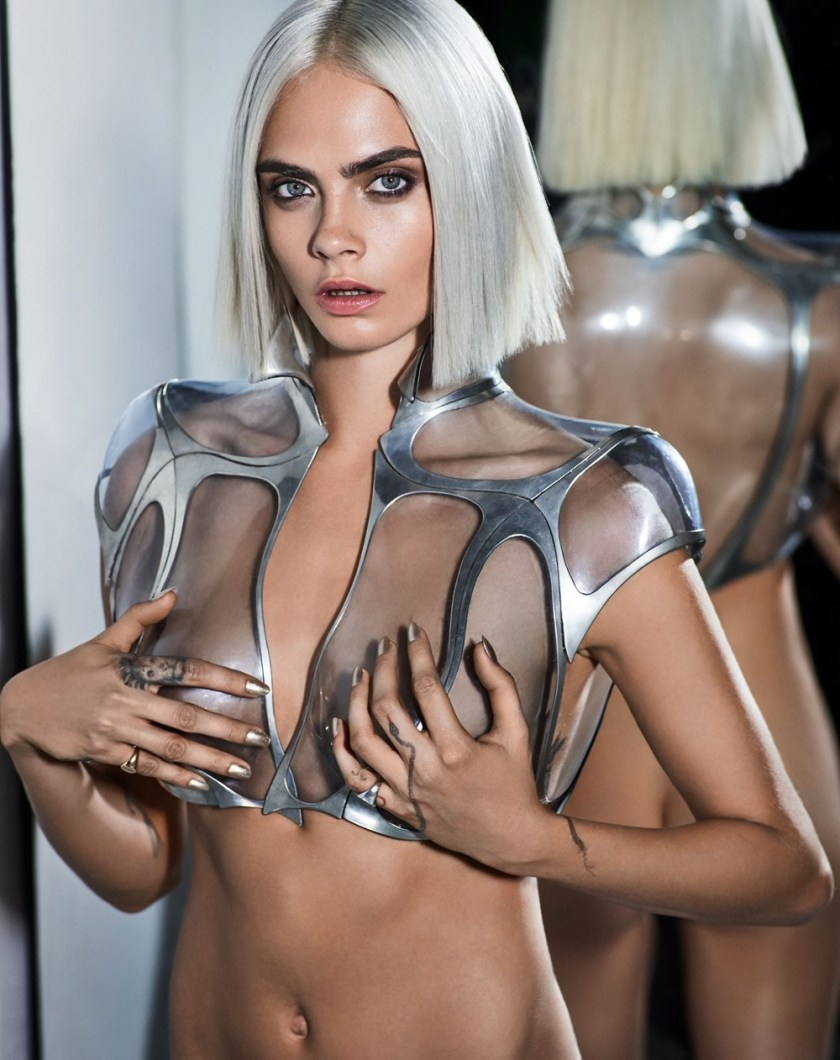 GQ UK Cara Delevigne by Mariano Vivanco. Teddy Czopp, August 2017, www.imageamplified.com, Image Amplified6