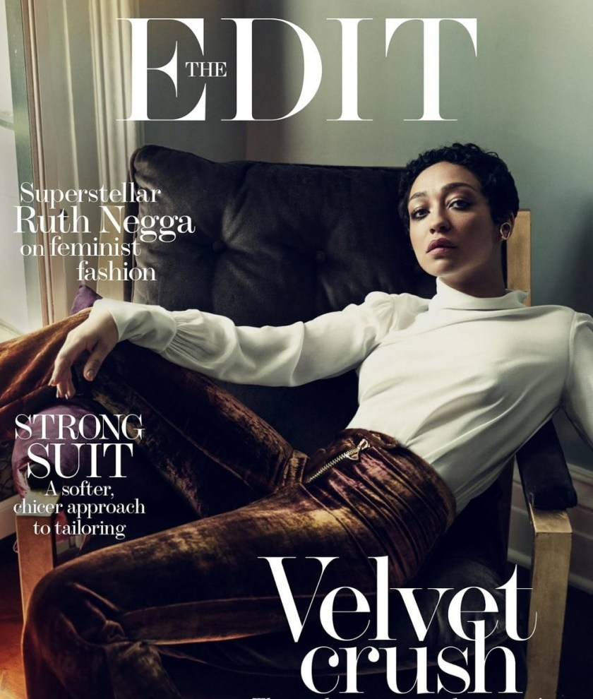 THE EDIT Ruth Negga by Norman Jean Roy. Tracy Taylor, July 2017, www.imageamplified.com, Image Amplified1