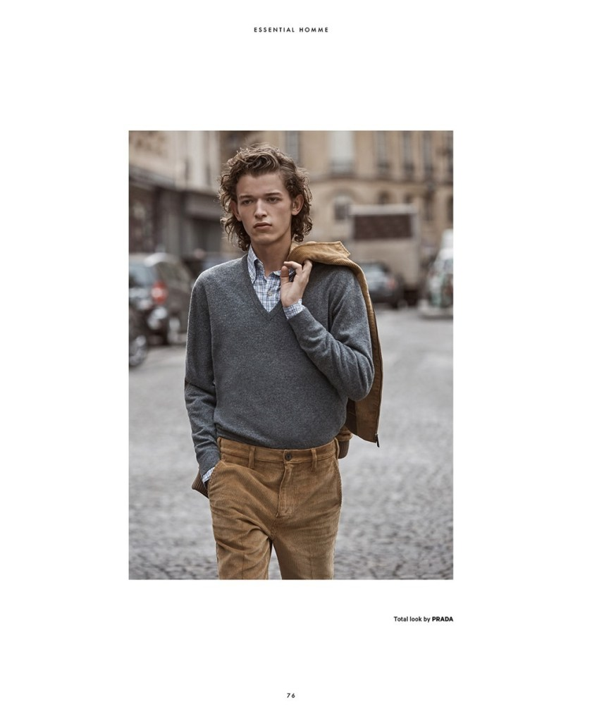 ESSENTIAL HOMME Paul Barge by Christopher Ferguson. James Sleaford, September 2017, www.imageamplified.com, Image Amplified8