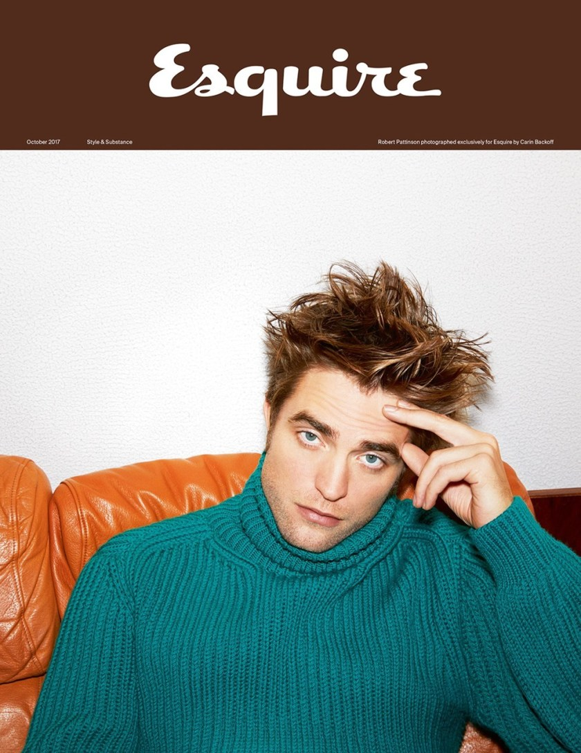 ESQUIRE UK Robert Pattinson by Carin Backoff. Catherine Hayward, October 2017, www.imageamplified.com, Image Amplified2