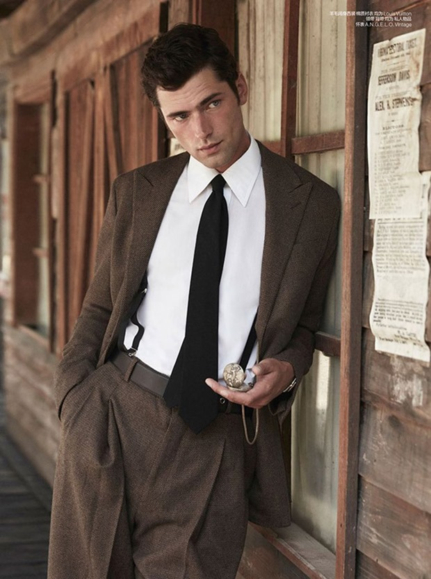 GQ JAPAN Sean O'Pry, Michael Gioia & Thyme Stidworthy by Adriano Russo. Jacky Tam, Fall 2017, www.imageamplified.com, Image Amplified4