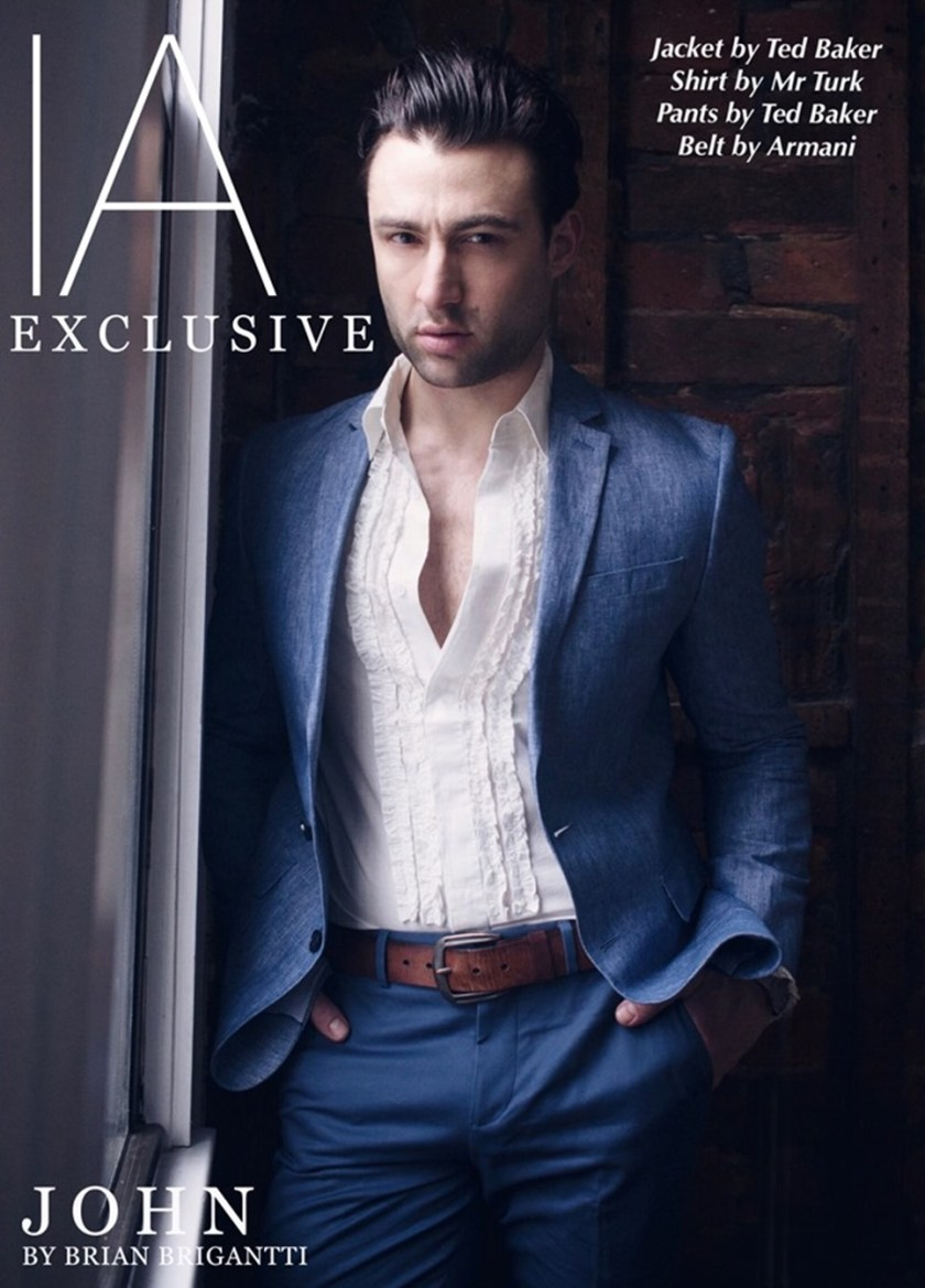 IMAGE AMPLIFIED EXCLUSIVE John Strand by Brian Brigantti. Fall 2017, www.imageamplified.com, Image Amplified