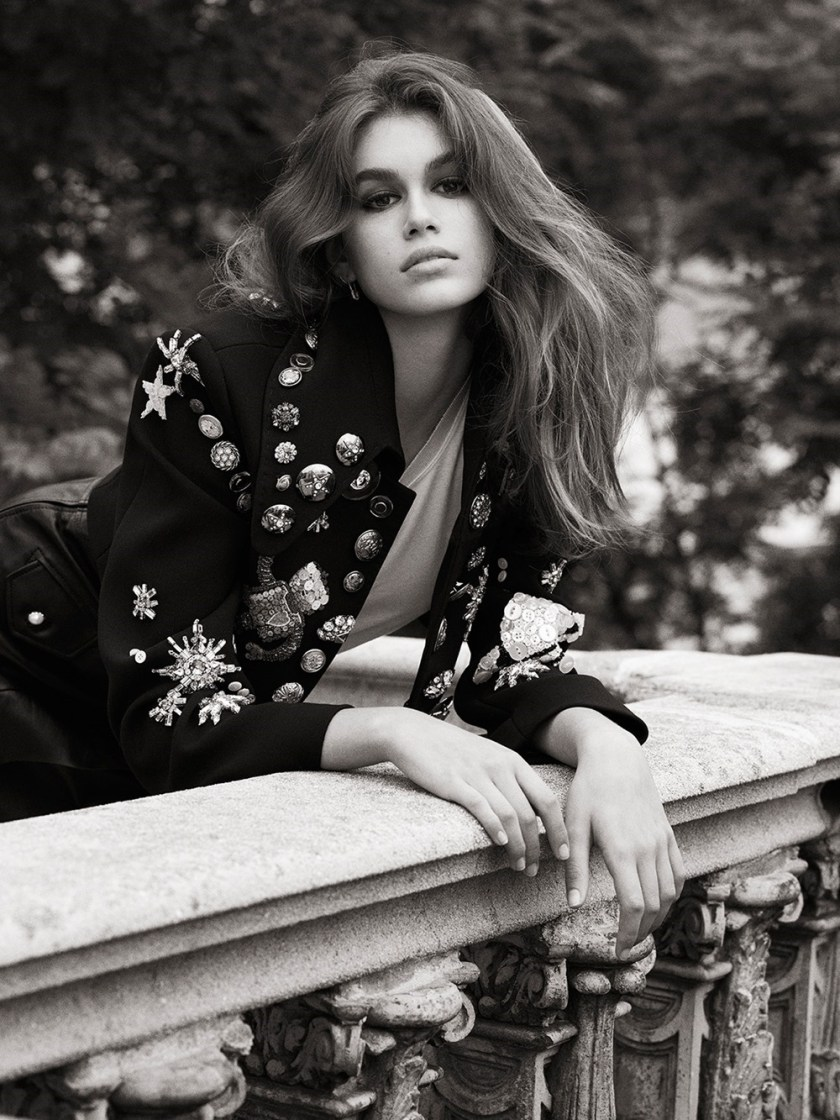 VOGUE UK Kaia Gerber by Lachlan Bailey. Clare Richardson, October 2017, www.imageamplified.com, Image Amplified1