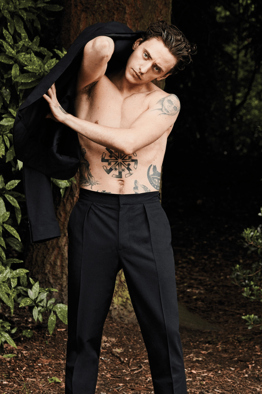 W MAGAZINE Sergei Polunin by Paul Wetherell. November 2017, www.imageamplified.com, Image Amplified1