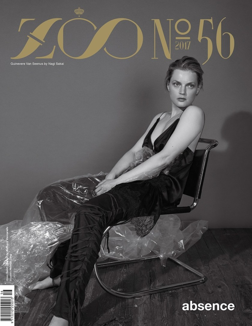 ZOO MAGAZINE Guinevere van Seenus by Nagi Sakai. Ye Young Kim, Fall 2017, www.imageamplified.com, Image Amplified1