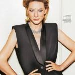 FASHION PHOTOGRAPHY: Cate Blanchett for Grazia Italia, October 2017