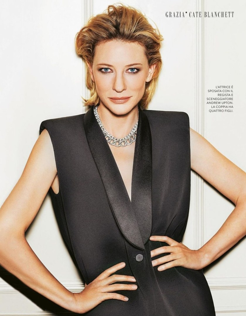 FASHION PHOTOGRAPHY Cate Blanchett for Grazia Italia, October 2017, www.imageamplified.com, Image Amplified1