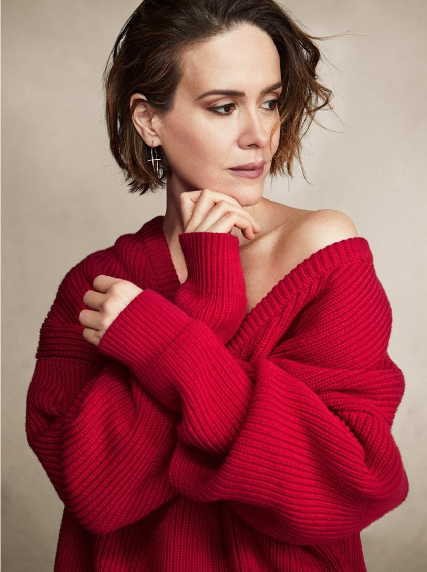 THE EDIT Sarah Paulson by Victor Demarchelier. Charles Varenne, December 2017, www.imageamplified.com, Image Amplified1