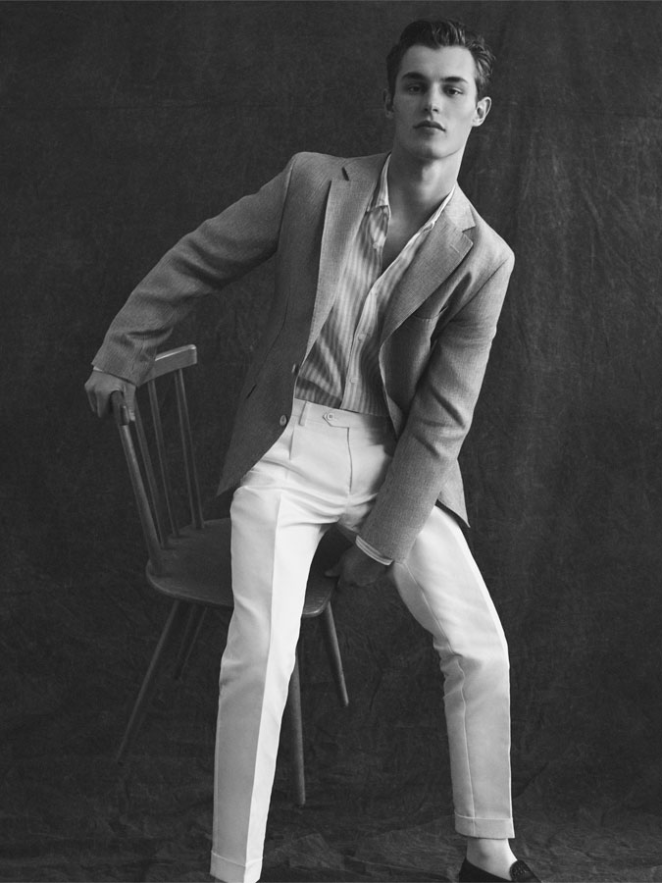 CAMPAIGN: Kit Butler for Massimo Dutti Spring 2018 | Image