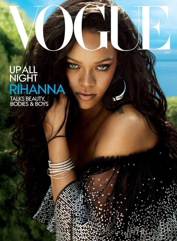 69f15e1803af VOGUE MAGAZINE Rihanna by Mert   Marcus. June 2018