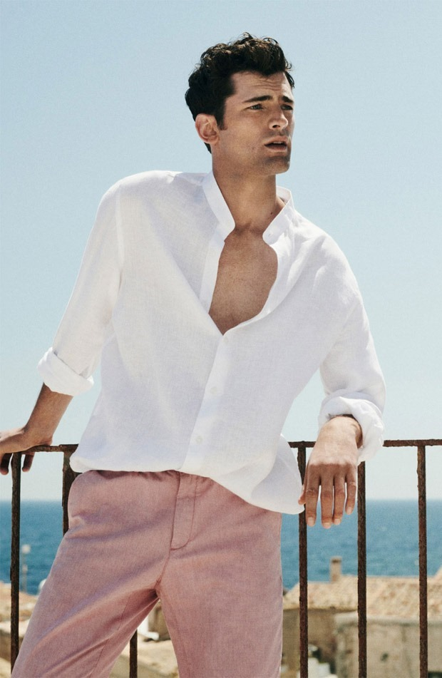 LOOKBOOK Sean O'Pry for Massimo Dutti Spring 2018. www.imageamplified.com, Image Amplified4