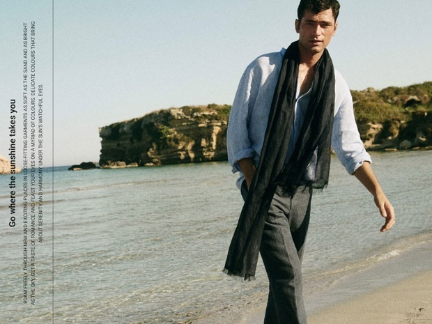 LOOKBOOK Sean O'Pry for Massimo Dutti Spring 2018. www.imageamplified.com, Image Amplified8