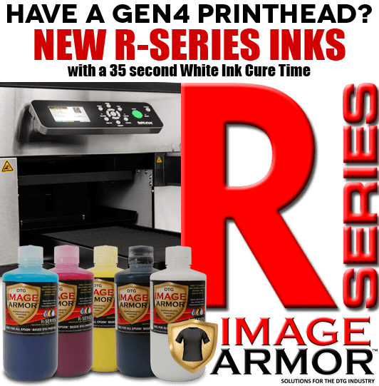 New R-SERIES Image Armor Inks for Ricoh GEN4 Printheads