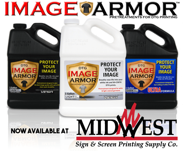 Midwest Sign and Screen Printing Supplies Brings Wider Distribution to Image Armor Products