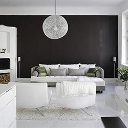 Warna Interior Rumah Hitam Putih Nan Abadi Kumpulan Artikel Tips