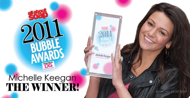 Michelle Keegan - Bubble Awards 2011