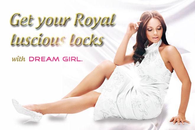 Dream Girl's Royal Luscious Locks