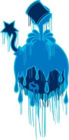 Blueberry Art Bomb
