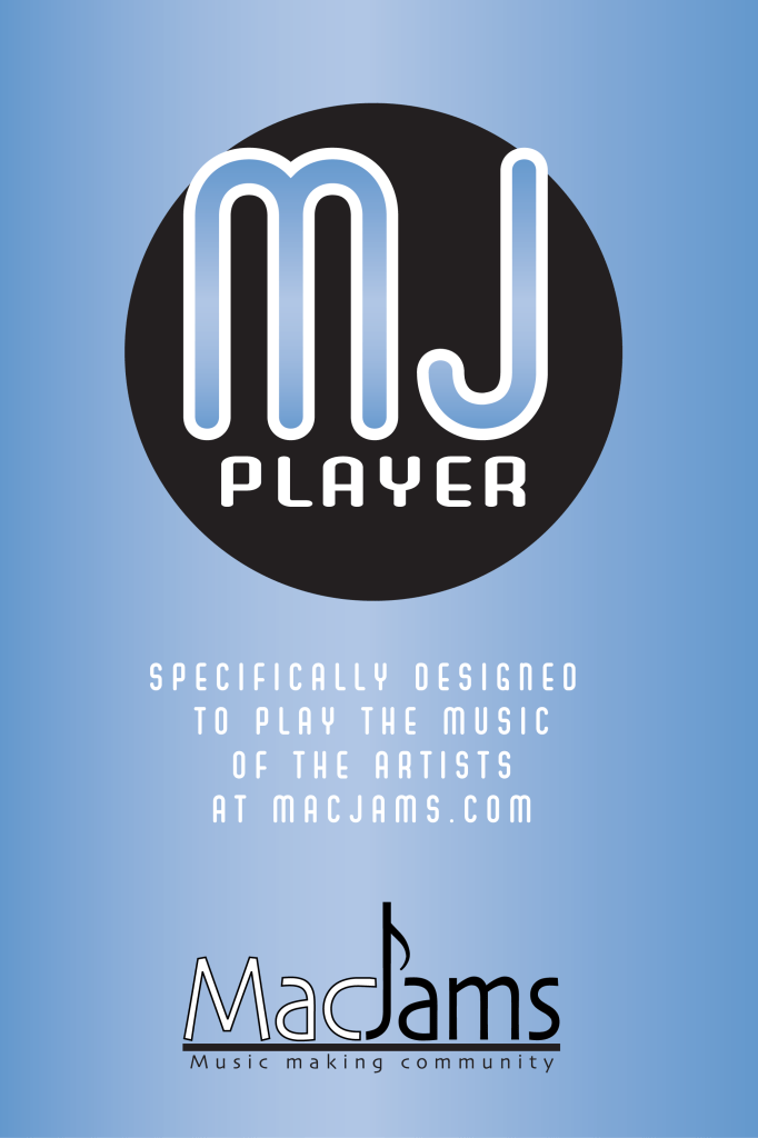 MacJams Player - iPhone App Graphics created in Illustrator for a software developer.