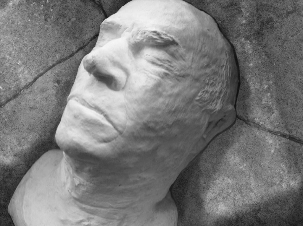 Death Mask.concrete