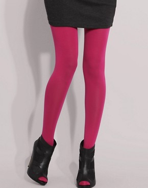 ASOS 80 Denier Opaque Hot Pink Tights