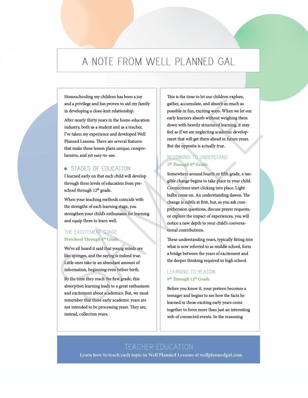 3rd Grade Culture Amp Ideas Lesson Plans