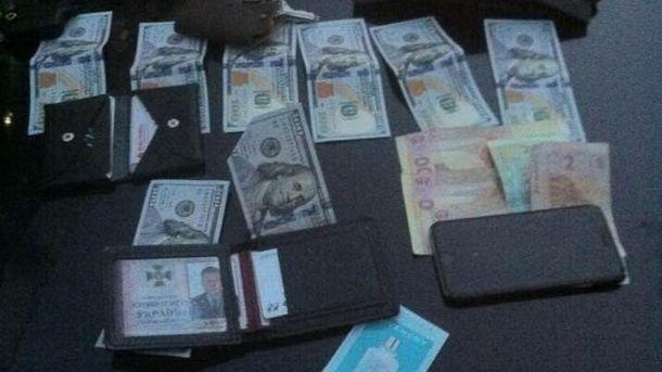 Деньги которые изъяли правоохранители