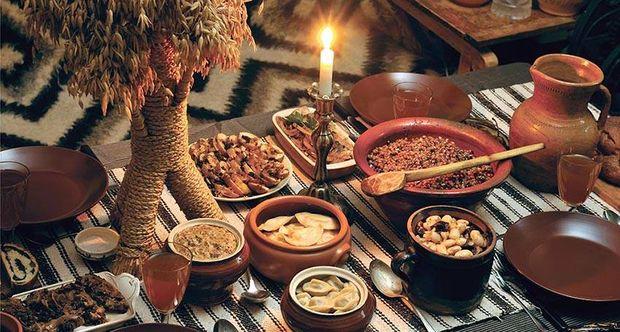 Свята вечеря складається з 12 пісних страв