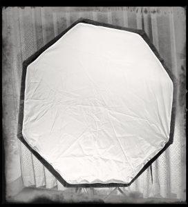 站長工作室使用的八角柔光箱