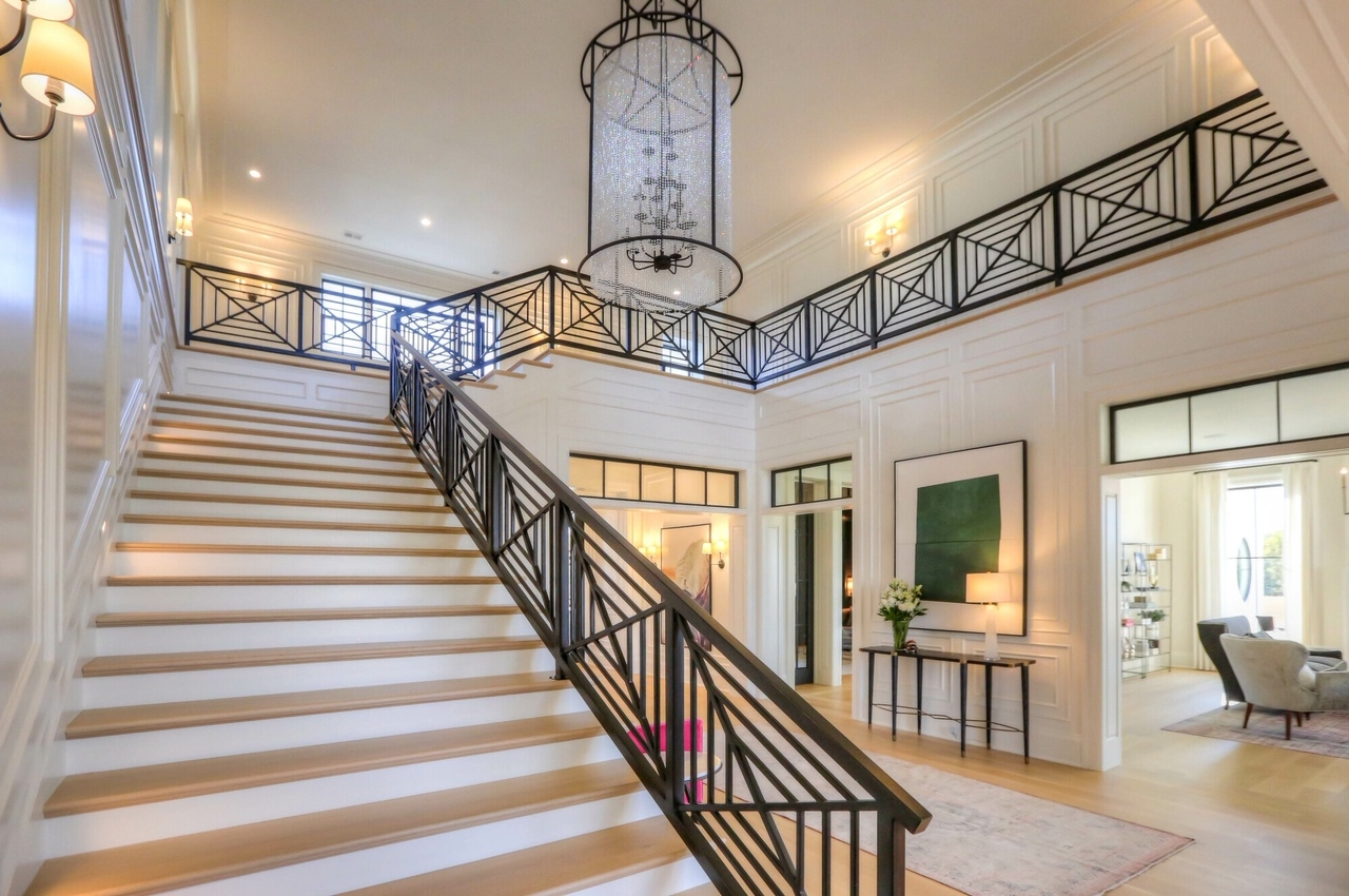 Straight Stairs Portfolio Image Design Stairs   Stairs Design In Lobby   Entrance Lobby   Foyer   Architectural   Circle Elevator Design Home   White