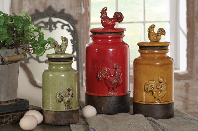 Kitchen Decor Canisters