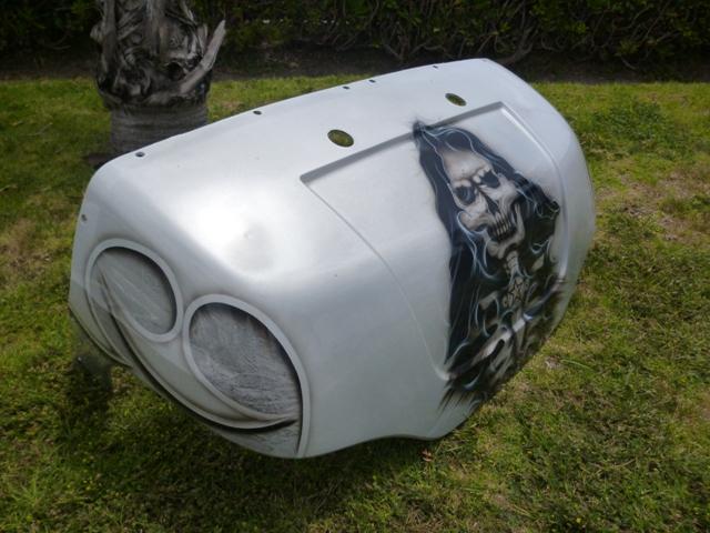 Yamaha G14 G16 G19 G22 Golf Cart Custom Grim Reaper Any