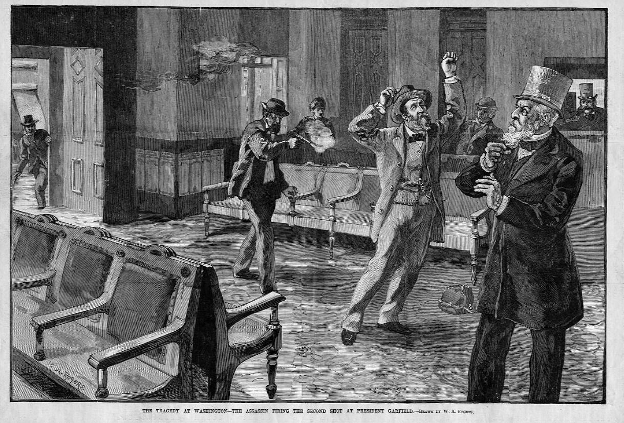 President Garfield Assassination Tragedy At Washington