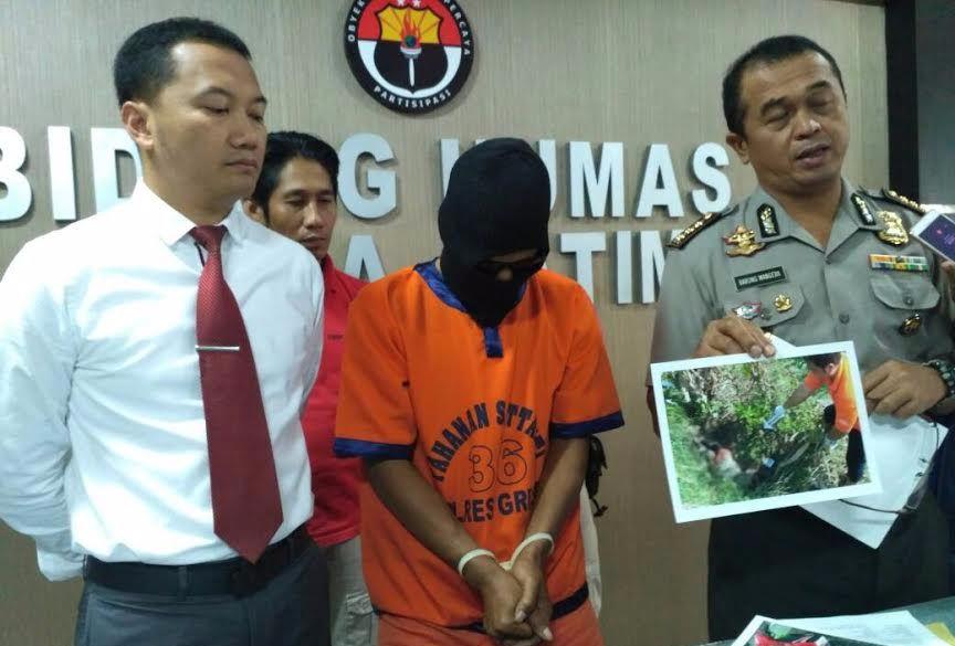 Jajaran Polda Jatim Ungkap Kasus Pembunuhan