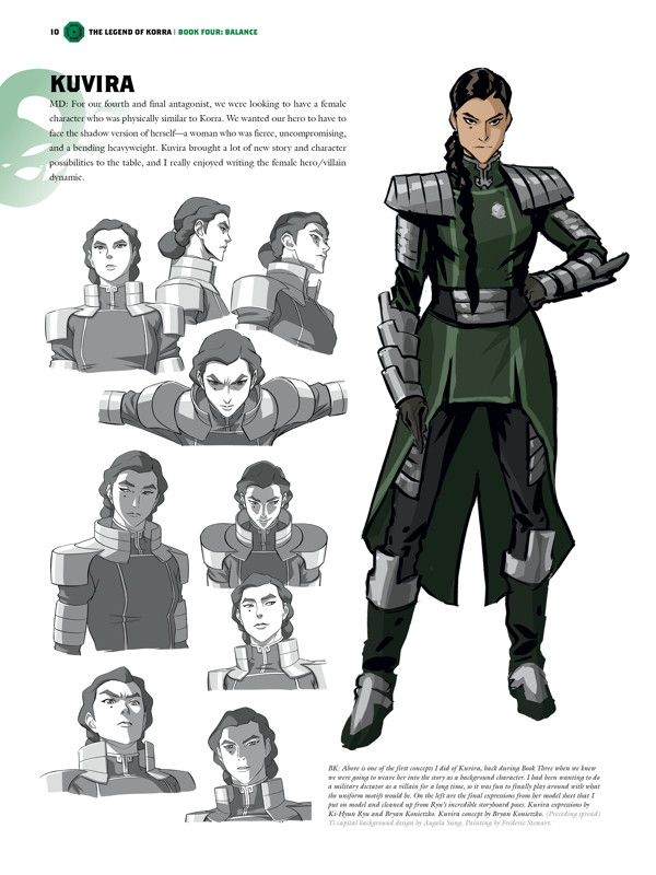 The Legend of Korra Book