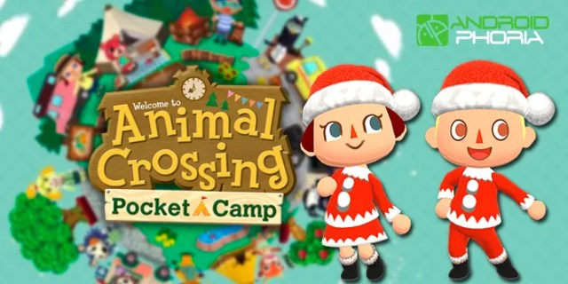 Animal Crossing Pocket Camp acontecimiento navidad