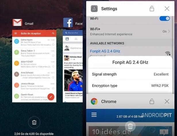 Apps em segundo plano no Android