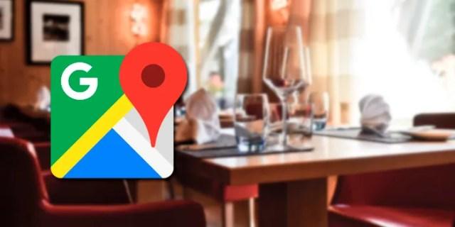 Google Maps restaurante