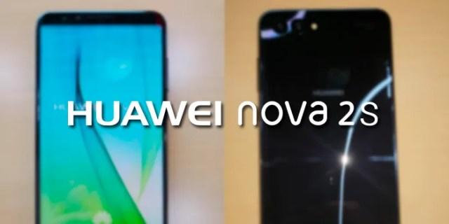 Huawei Nova 2S especificaciones filtradas
